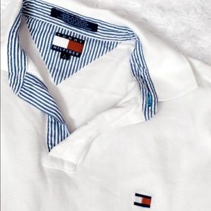 Tommy Hilfiger off white polo